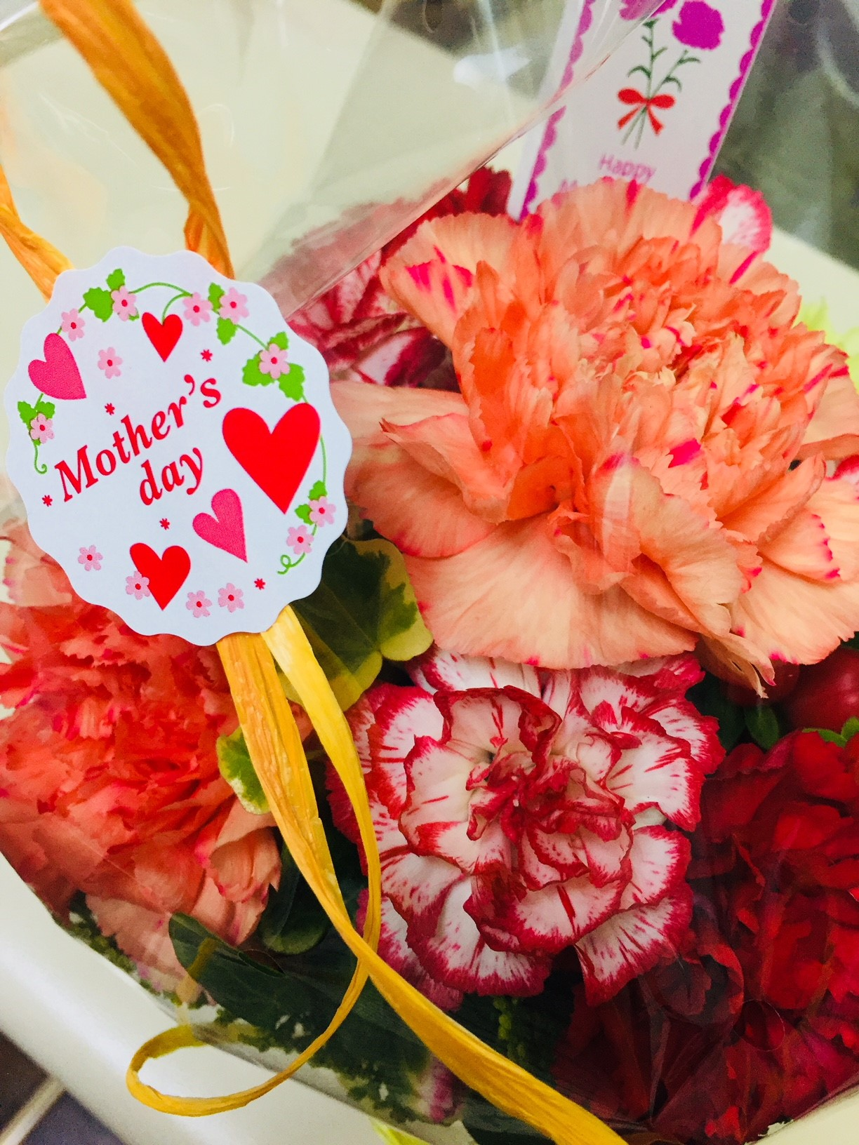 今日は母の日  |白楽駅 美容室Calme(カルム)